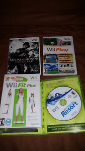 Selling a Bundle of 4 Wii Games!