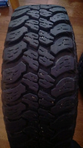 Set of great truck tires