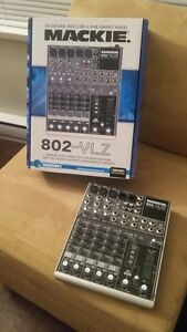MUSIC PERFORMANCE BEHRINGER PA, MIC, MIXER MACKIE 802-VLZ3