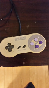SNES controller and PC ADAPTOR for sale