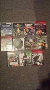 Play station 3 ps3 consle with games