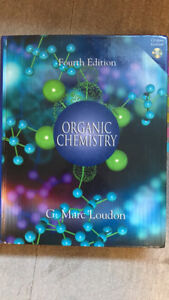 Organic chemistry book - Loudon - 4th edition - hardcover