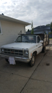 $850obo Gmc Work Truck & mounted concrete mixer sale or trade!!