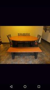Excellent condition Rustic Custom-Built Table