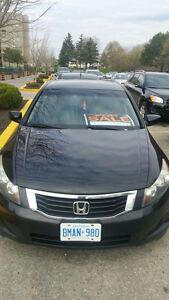 Honda Accord Sedan XLE With GPS and 6 CD Changer