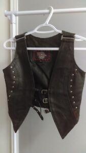 Petite veste en cuir Femme XS (neuve jamais porter