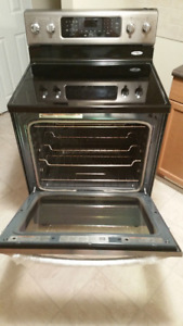 kitchenaid stainless steel convection stove