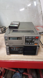 SONY SL-2000 BETA RECORDER. COMPLETE POWERS UP