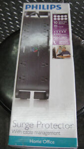 philips 10 outlet surge protector 3,200 level