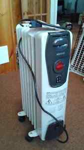 Kenwood portable oil-filled radiator