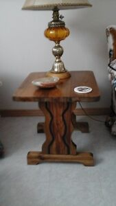 MATCHING END TABLES AND COFFEE TABLE