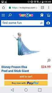 Giant Frozen Wall Decal