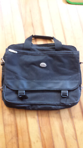 Soft sided laptop briefcase