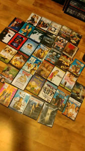 HUGE LOT DVDS 48 TOTAL AND A BOX SET