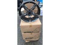 "19"" alloy wheels alloys rims 5x120 BMW 1 2 3 4 series Vw Volkswagen transporter t5"