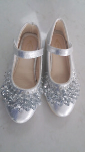 Girls size 1 shoes lots of bling!