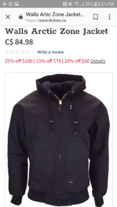Men's Dickies Walls Artic Zone Jacket $35 size L and XL