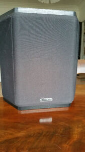 MONITOR AUDIO rear & centre channel speakers