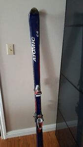 Atomic skis 170 cm + Look bindings