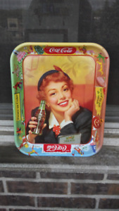 Real and authentic 1953 Coca Cola tray