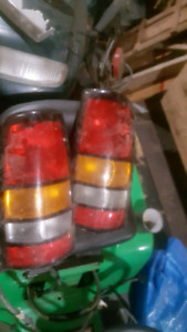 Tail lights and signal lights
