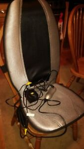 Back Massager attaches to chair