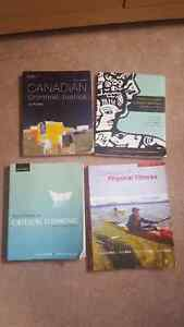 Several textbooks for sale