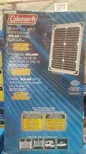 Coleman 25 Watt Solar Panel camping and more