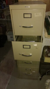 Filing Cabinet, 4 Drawer, Metal