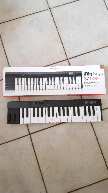 IRIG KEYS 37 USB MIDI KEYBOARD CONTROLLER  DJ MUSIC GARAGE BAND | in  Newcastle, Tyne and Wear | Gumtree
