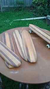 Vintage original California skateboard decks