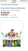 Fisher-Price Step and Play Piano
