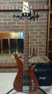Handcrafted 4-string Electric Bass Guitar