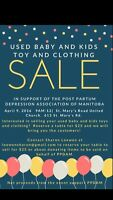 Used Baby and Kids Clothing and Toy Sale