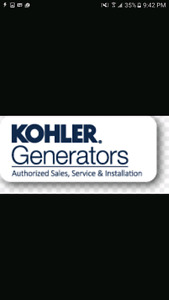Kohler Standby Generators - Competitive pricing!