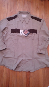 Sheriff Little south police costume style long sleve shirt