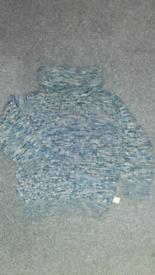 18-24 months old boy blue jumper