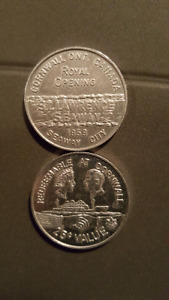 1959 rare royal opening coin of St lawrence seaway