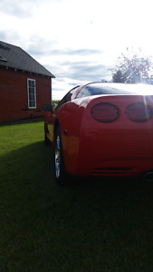2001 corvette in mint condition and low km