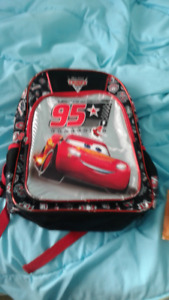 Disney car back , Olaf  lunch bag and boots and more.....