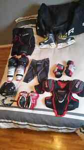 equipement de hockey complet