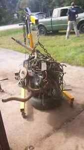 2.5 4cyl jeep engine and transmisson