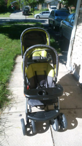 Baby Trend sit and stand dual stroller