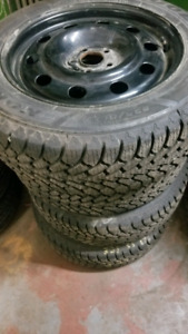 Ford Escape winter rims and tires with sensors (new)