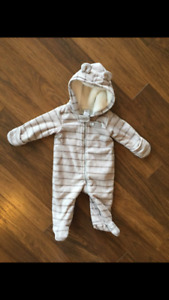 Snowsuits new condition 3 and 6 months