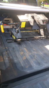 24K HD EZ roller 5th wheel hitch and rails