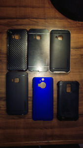 5 HTCM9 + 1 SamsunggalaxySX2 PHONE CASES