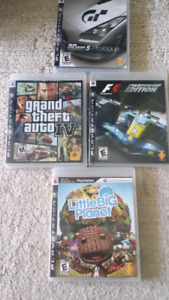 Playstation Games Assorted 5$ each