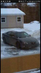 2006 pontiac grand prix for parts or repair NEED GONE!!!!