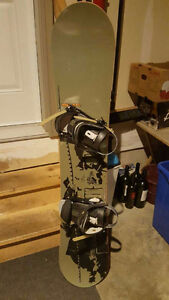 Rossignol Snow Board and Boots